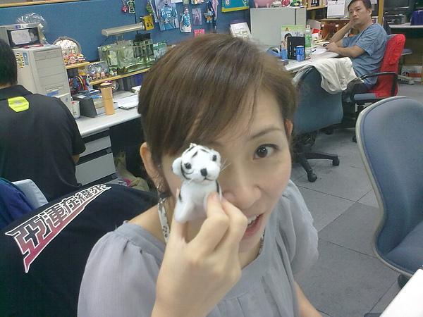 100901這是裴翊從廣東白虎園帶回的小白虎