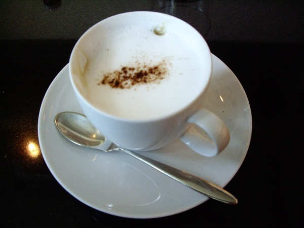 私のコーヒー...