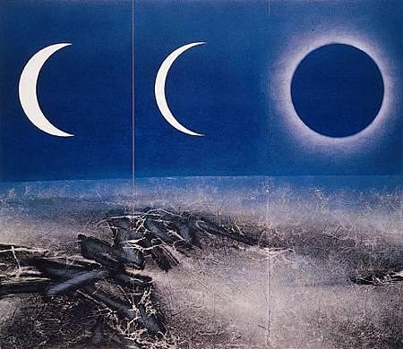 劉國松,月蝕