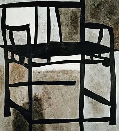 大明風度∣1991   油彩、畫布,130×145cm
