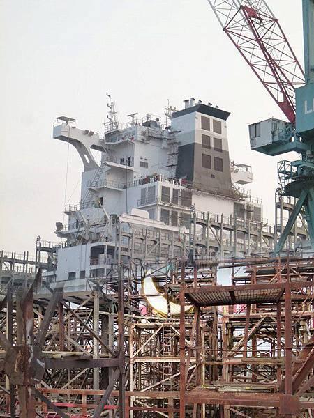 中船造船廠拍攝現場