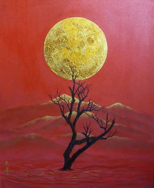 2009,沙漠系列01,油畫.jpg