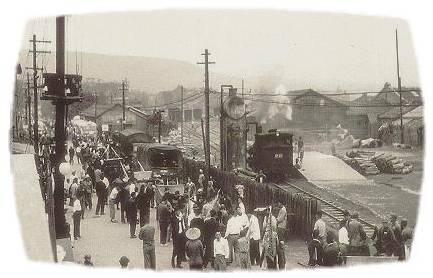 淡水車站╱火車加水的奇景.jpg