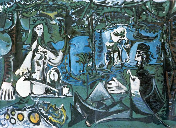 畢卡索《草地上的午餐》1960.jpg