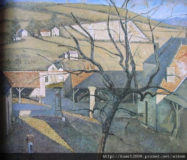 Balthus《偉大的樹景》1960.jpg