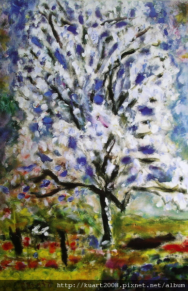Bonnard《杏樹開花》1946.jpg