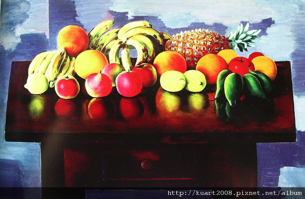 Kisling《靜物‧水果》1953.jpg