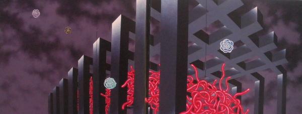 逃離,180X450,1993.jpg