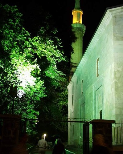 Bursa-9-Mosque at night