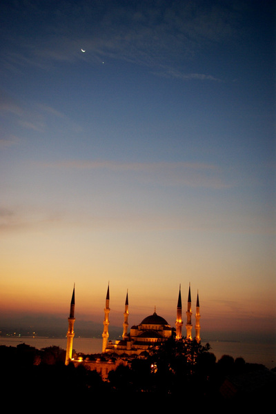 Blue Mosque-1 by Moses