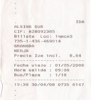 01.Granada倒Nerja的巴士車票.jpg