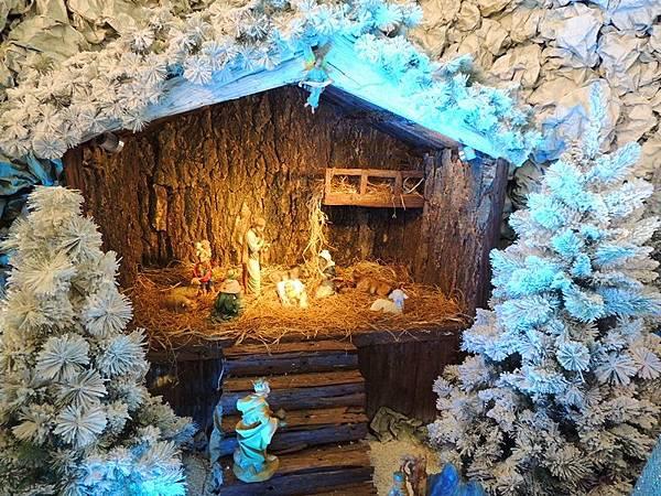 民政總署大廳的耶穌誕生景.JPG
