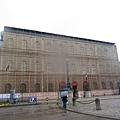 外牆整修中的慕尼黑王宮.JPG
