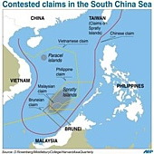 copy from AFP south china sea