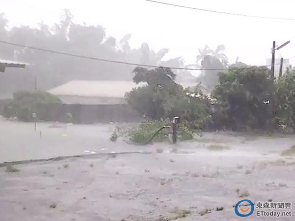 康芮颱風3
