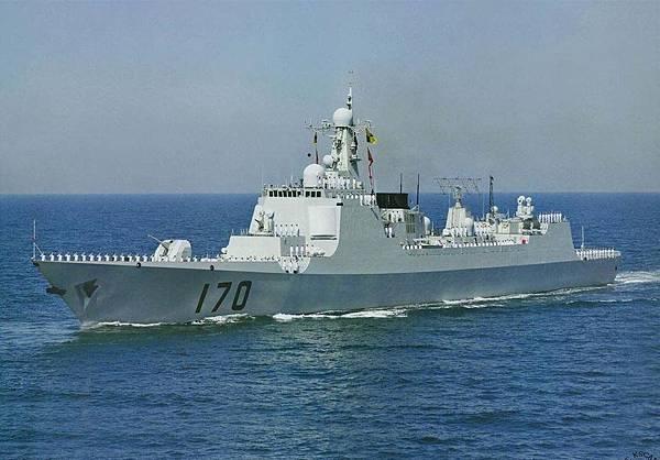 中國海軍驅逐艦
