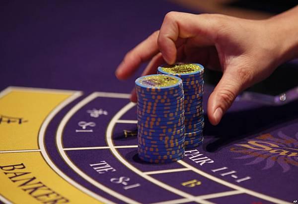 賭場賭桌上的籌碼