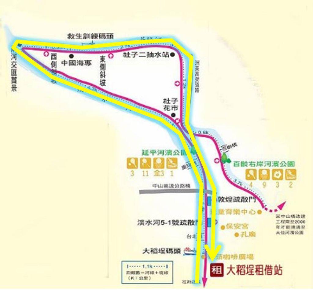 社子島單車路線