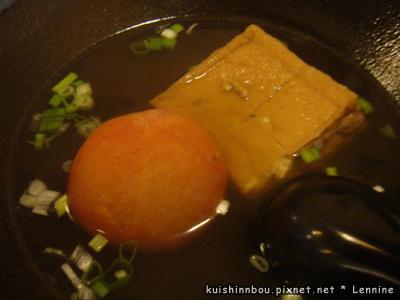 煮番茄&油豆腐