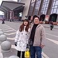 武昌火車站的氣勢比台北車站大喲!