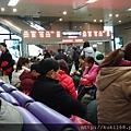 在記憶中,除了過年之外,武昌車站也是人潮眾多