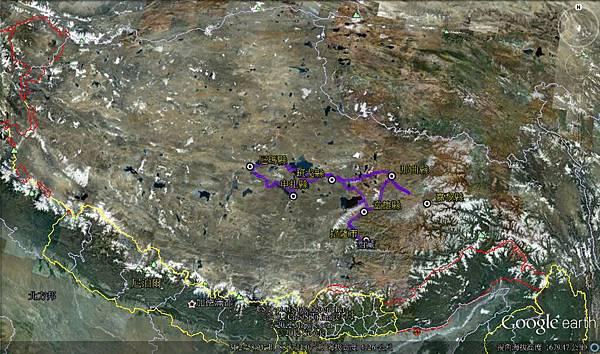 tibet field trip map_2