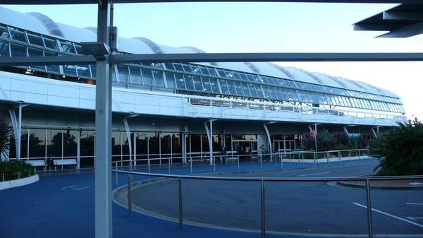 很小的雪梨國際機場