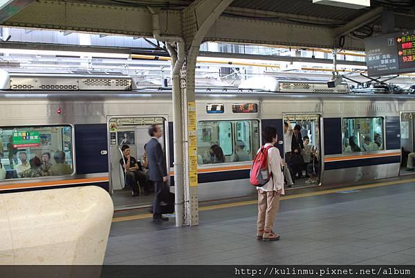 御堂筋線「梅田站」