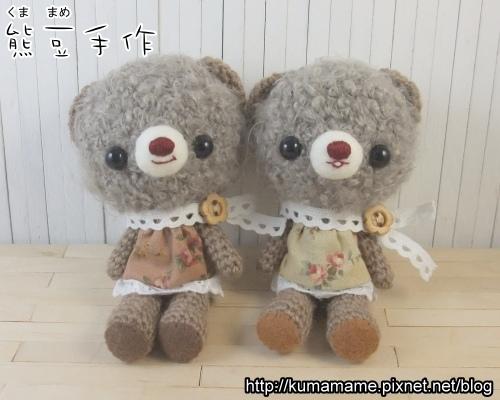 灰灰捲毛熊02