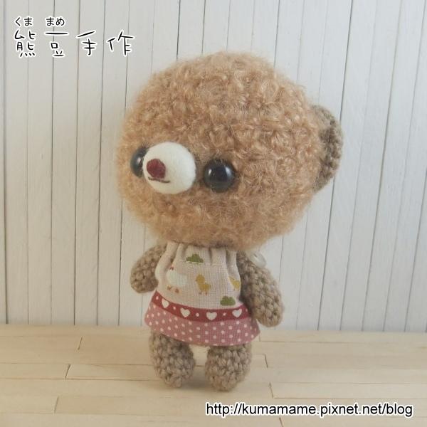 咖啡捲毛熊-粉紅洋裝03.jpg