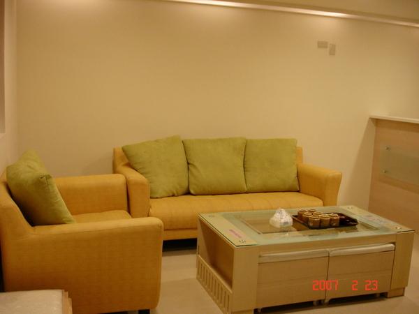 小木屋的客廳