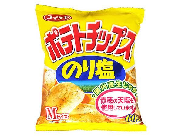 コイケヤポテトチップス のり塩  .jpg