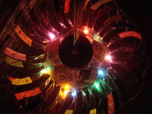 朝傳宮02-05頂視(點燈後)