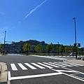 我們在長期住的旅館在長崎港附近~那天正好天氣晴朗...藍天與海..真是完美的結合