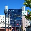 長崎市車站旁有很多商店街~還有很多旅館都是跟車站連結在一起的....還有一個蠻大的shopping mall