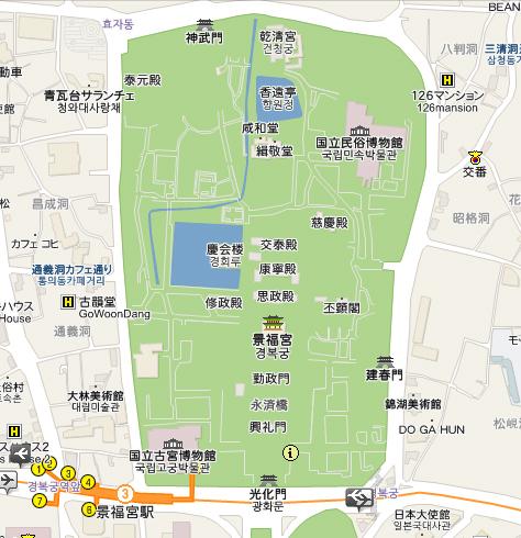 景福宮平面圖
