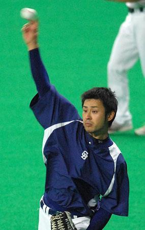 朝倉健太備戰中(2007)