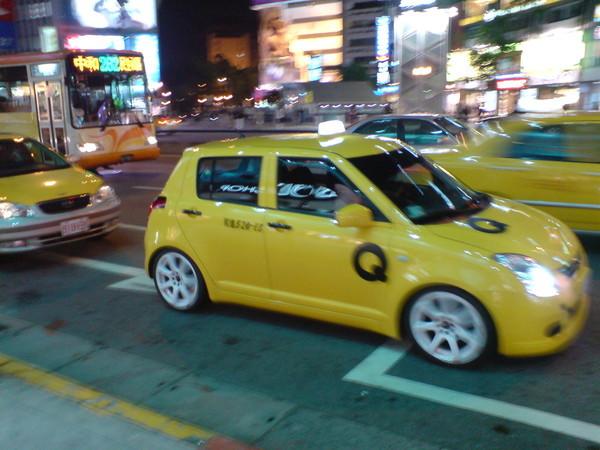 計程車唷!!Swift的唷``