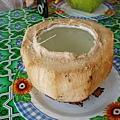 527熱的椰子汁