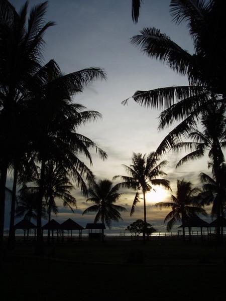 527熱帶夕陽