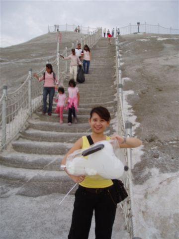 灰鹽山階梯