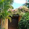 這是我們的villa大門
