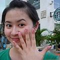 凱蒂的指甲彩繪