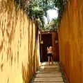 到隔壁villa的通道