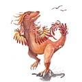 20161211有羽毛試著要飛的恐龍.jpg