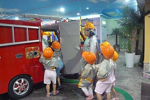 BABY BOSS職業體驗城~消防員