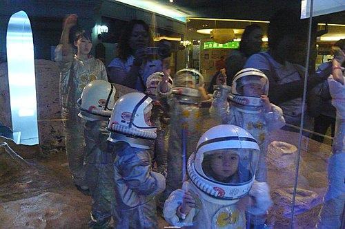 BABY BOSS職業體驗城~太空人