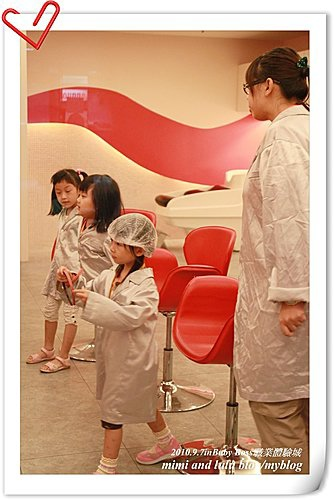 2010年baby boss職業體驗城in美髮師