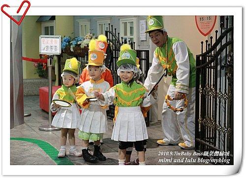 2010年babyboss職業體驗in皇家儀隊