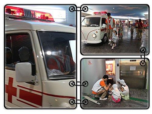 2010年baby boss職業體驗in急救室
